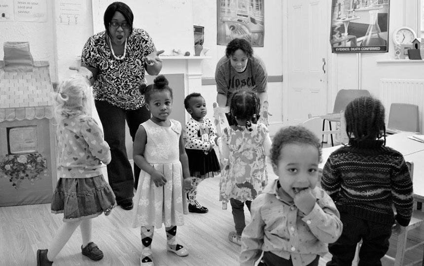 F Step Children at South Street Baptist Church